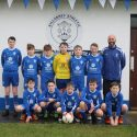 Killarney Athletic U13 with new jerseys sponsored by Killarney Credit Union
